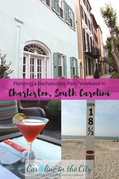 How To Throw A Bachelorette Party In Charleston Caroline