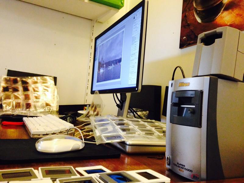 Digitalizando nuevamente nuestros archivos en película.