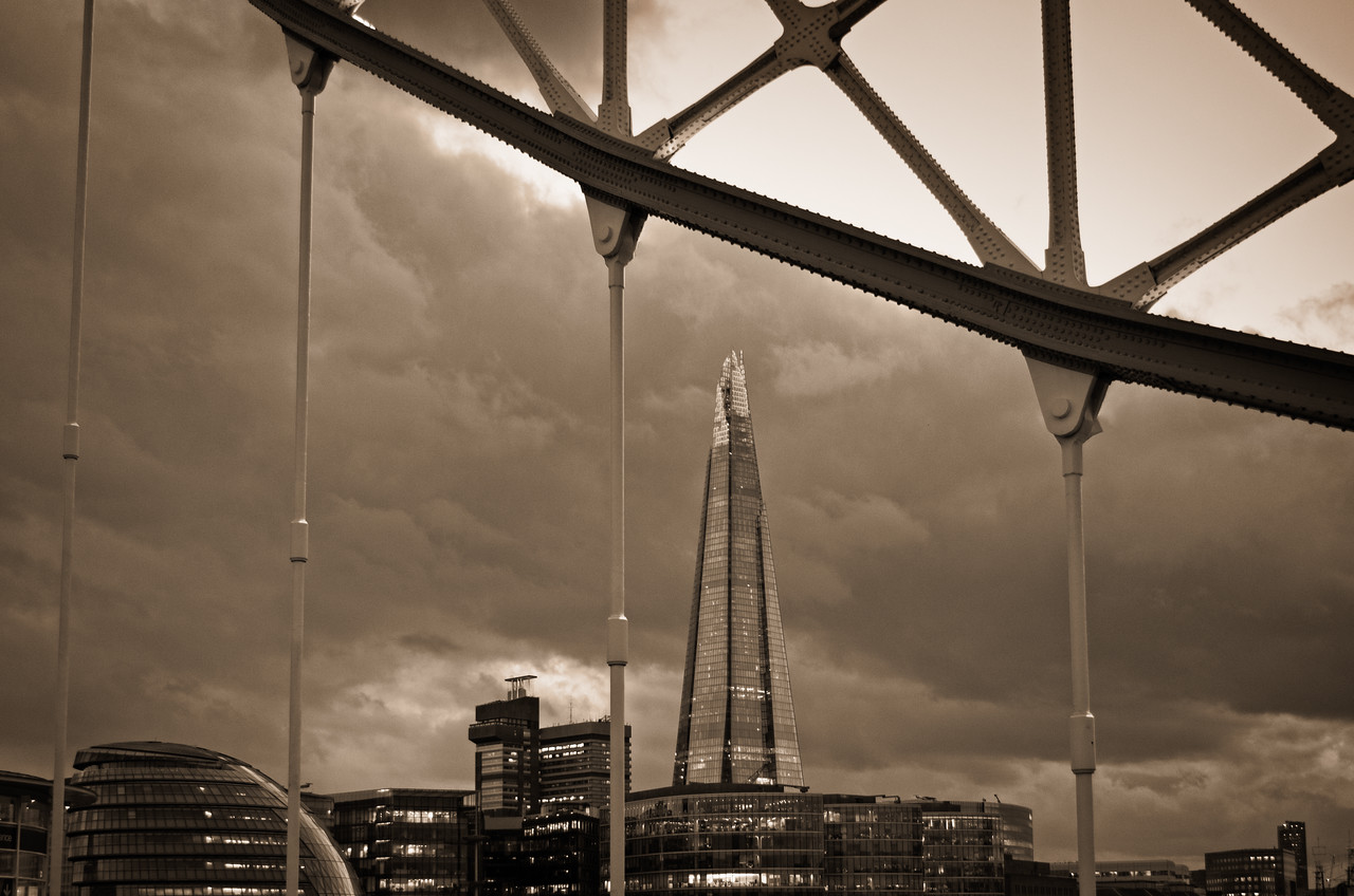 The Shard from Tower Bridge