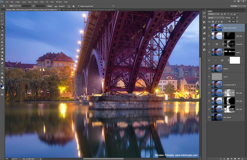 Under the bridge - process