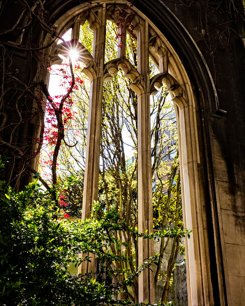 St Dunstan-in-the-East (City of London, United Kingdom 2017)