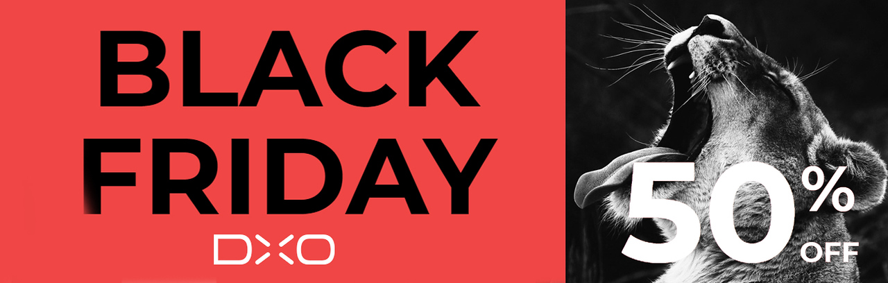 DxO Black Friday 2018