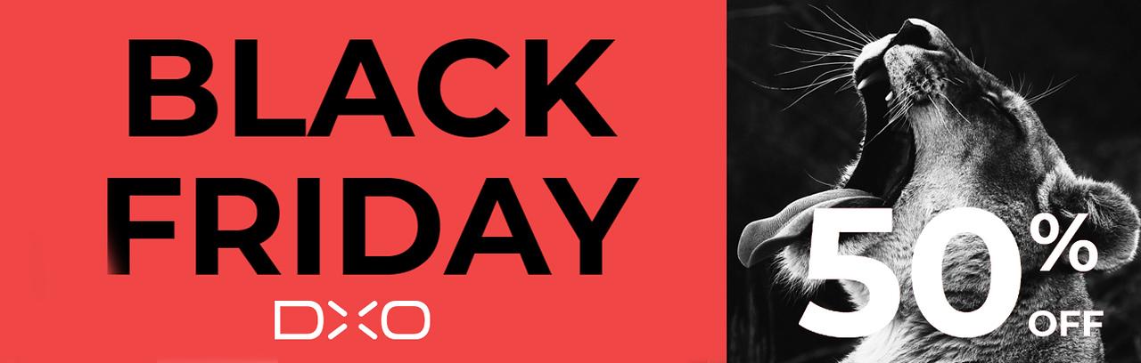 DxO Black Friday 2018