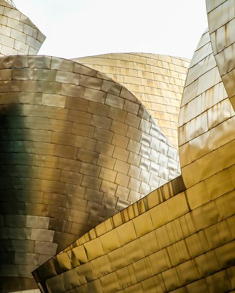 Frank Gehry's Guggenheim Museum (Bilbao, Spain 2015)