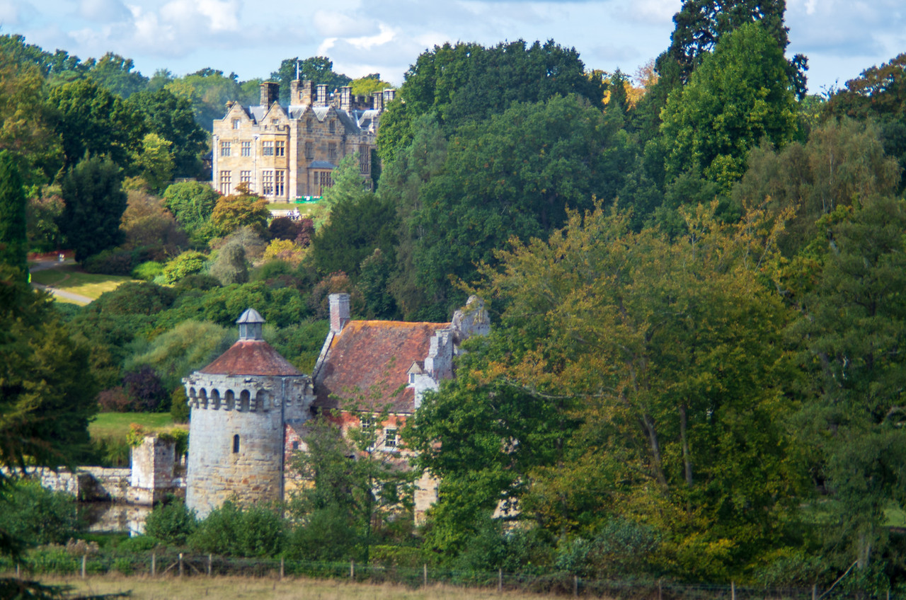 Scotney Castle Old and New