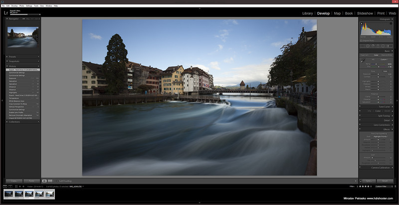 Waves in Lucerne