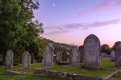 Lewes Cemetery Sunset