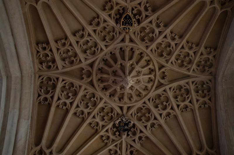 Bath Abbey Ceiling