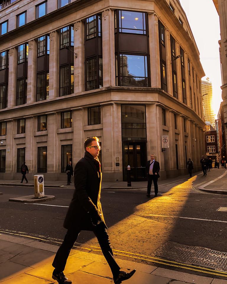 Moorgate & Telegraph (City of London, United Kingdom 2018)