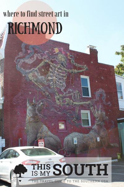 Richmond street art
