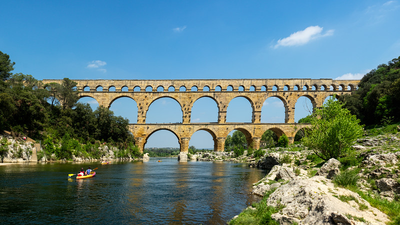 Le Pont-du-Gard (Occitanie, France 2018)