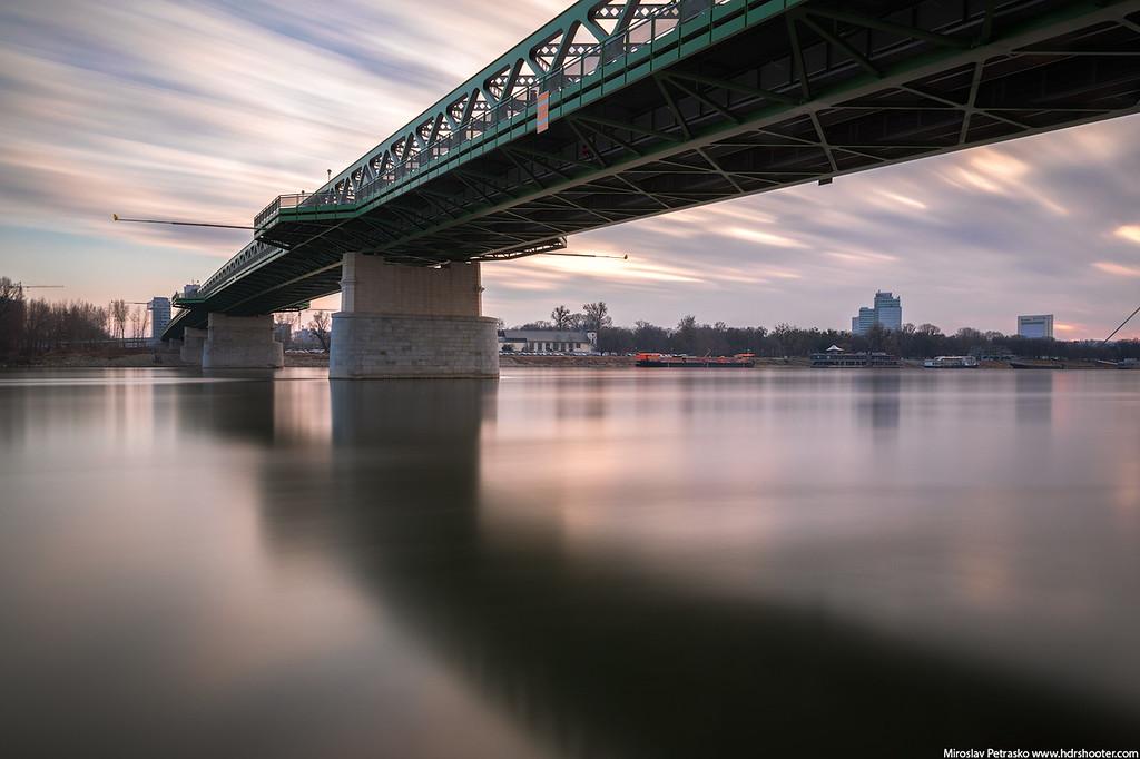 VFFOTO filters, long exposure, Bratislava, Slovakia