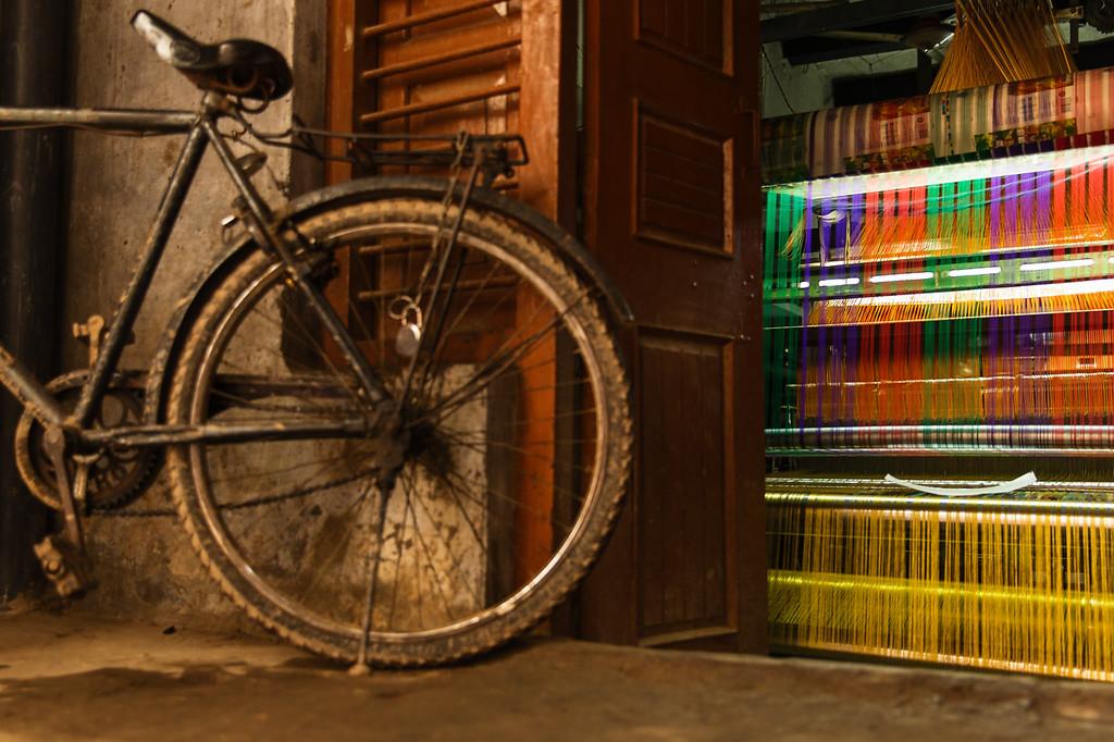 The Silk Weaving Machine (Varanasi, India 2015)