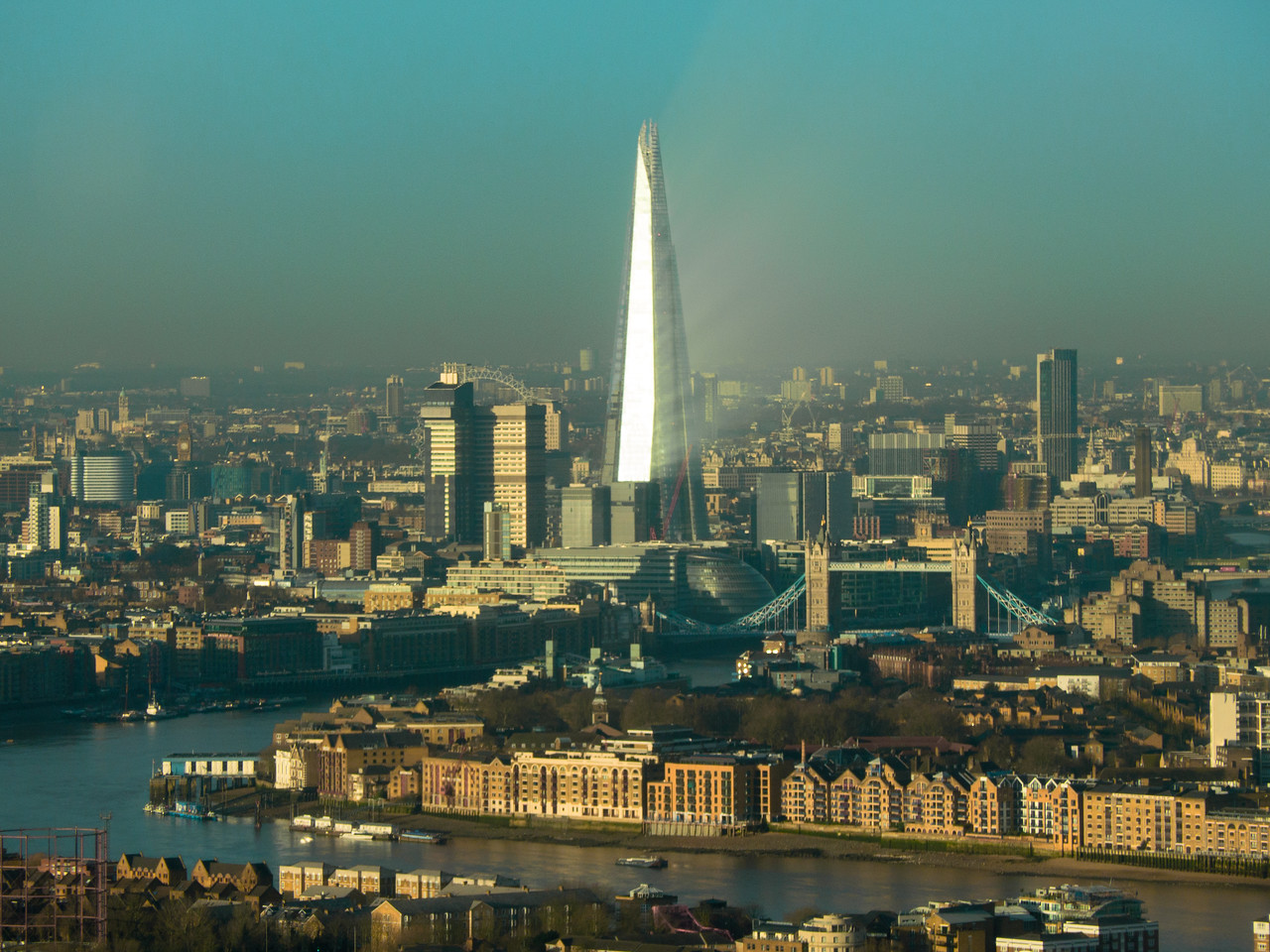The Shard in the Morning