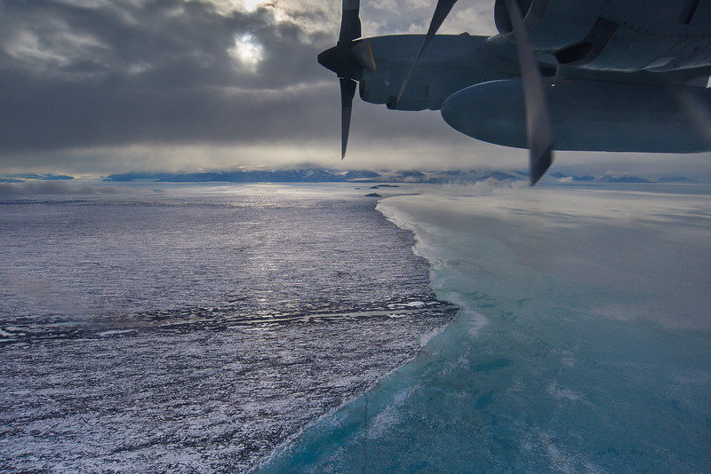 Sea Ice Near McMurdo