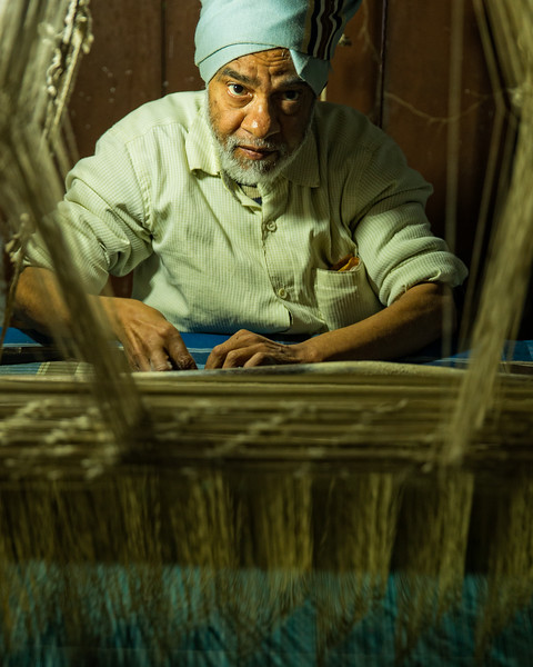 The Silk Weaver (Varanasi, India 2015)