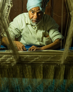 The Silk Weaver (Varanasi, India 2015)