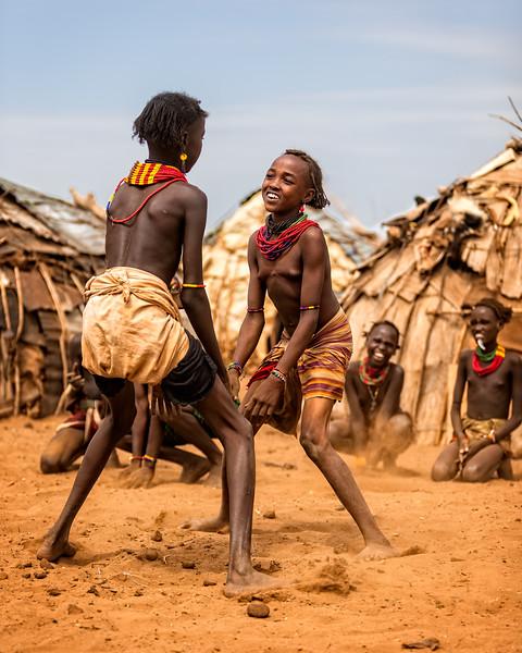 Dassanech Tribal Dance (Omorate, Ethiopia 2014)
