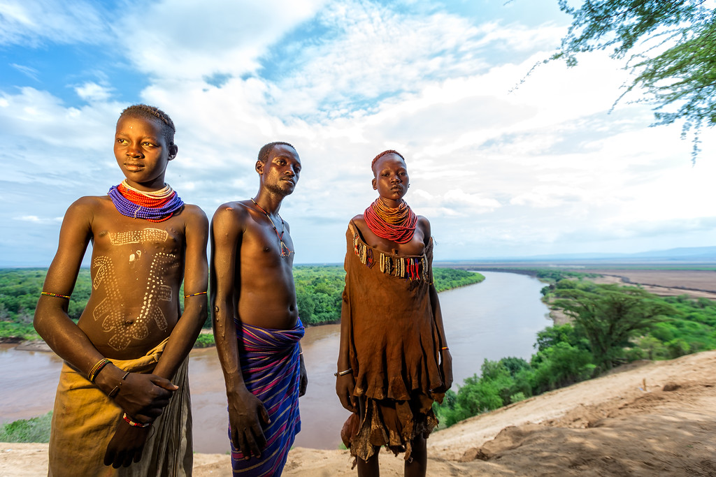 The Karo Tribe from Kolcho (Omo Valley, Ethiopia 2014)