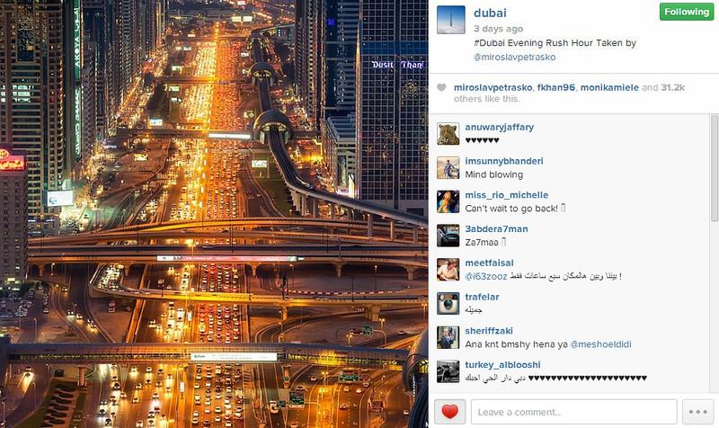 Dubai Instagram