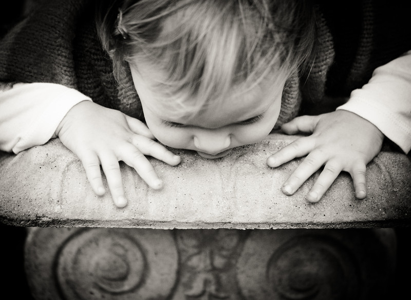 Still one of my favorites of the day - those little hands and the intensity of expression...