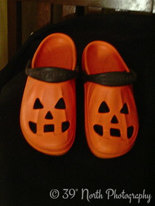 Jack 0 Lantern Shoes by Mikki K.