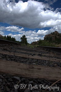 Buena Vista Train Tracks by Laurie H.