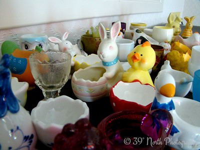 Egg cup collection by Annet H.