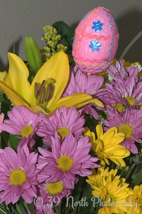 Easter Flowers by Laurie H.