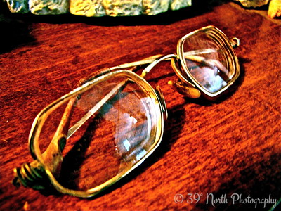 Eye Glasses of the past by Mikki K.