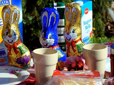 Easter bunnies by Annet H.
