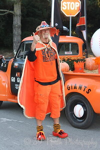 Fan-San Francisco Giants by Francis M.