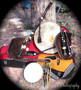Celtic Instruments by Mikki K.