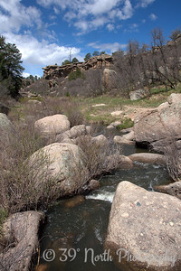 Inner Canyon - Castlewood Canyon State Park by Laurie H.