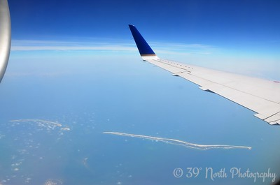 Islands while Inflight by Angie K.