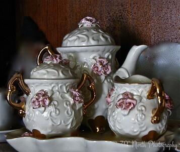 Ivory Tea Set by Mikki K.