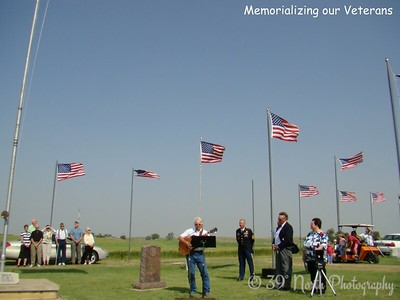 Memorializing our Veterans by Sandi P.