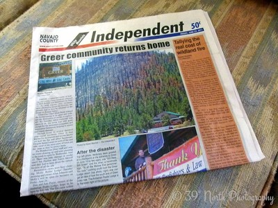Newspaper by Norma H.
