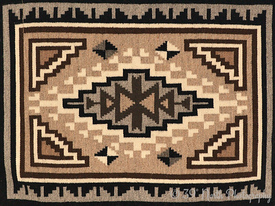 Navajo rug by Laurie H.