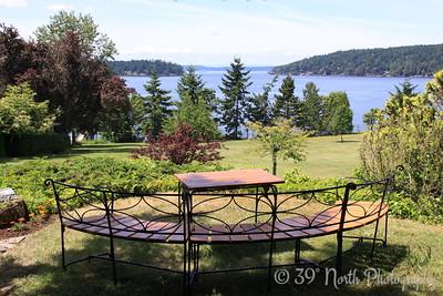 Orcas Island vista by Karen B.