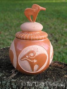 A favorite piece of Pottery by Mikki K.