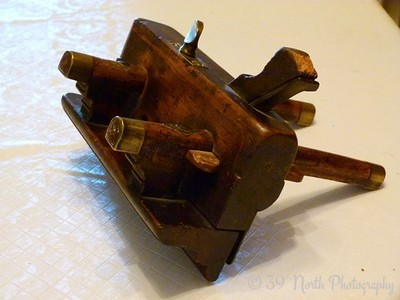 Antique English Plough Plane by Norma H.