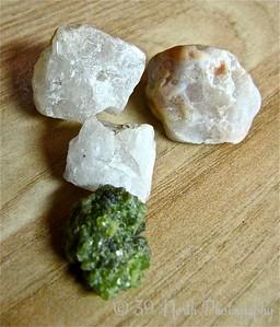 Little Quartz Stones by Mikki