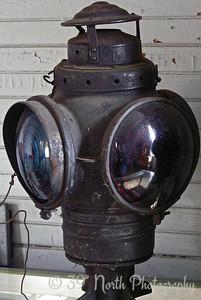 Old RR Lantern by Mikki K.