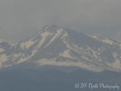 Longs Peak by Betty S.