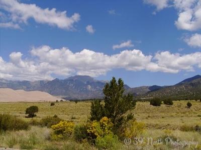 Sky in Alamosa by Lynn