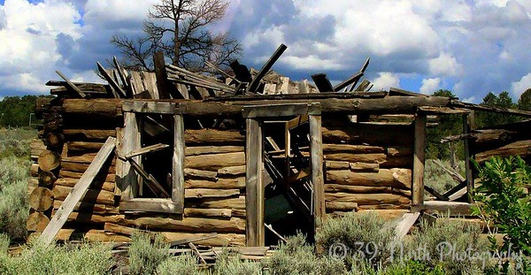 Long-abandoned home on the Zuni Reservation by Norma H.