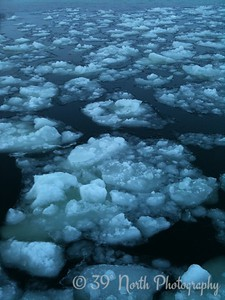 Ice at New Years Eve by Sandra N.
