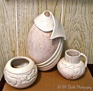 Blanket Maiden and Pots by Mikki K.