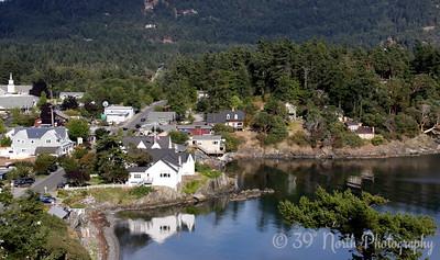 Fishing Bay, Eastsound, WA, Take 2 by Karen B.